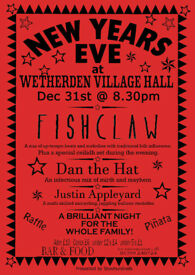 New Year's Eve at Wetherden Village Hall