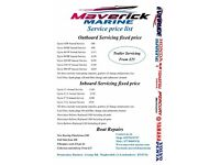 Outboard / Inboard repairs & Servicing Fixed Price