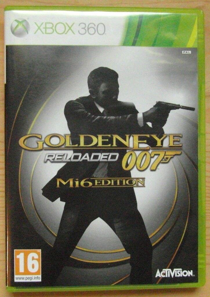 007 Goldeneye Reloaded, Mi6 Edition - Xbox 360 (very good condition)