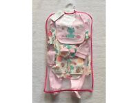 BNWT Bebe Bonito Baby Girl Layette Set 3 - 6 Months