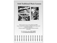 Improve your aural skills or learn Irish traditional music