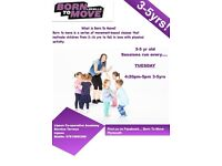 Born to move 3-4 yr old fitness class
