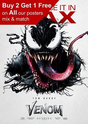 Venom Imax Movie Poster A5 A4 A3 A2 A1