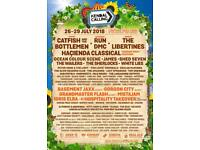 Kendal Calling adult general weekend camping with Thursday entry.