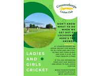 Ladies Cricket - New players wanted