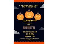 Halloween Craft club Glasgow
