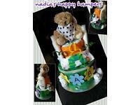 Unisex nappy cake