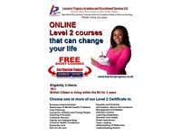 Free Online Level 2 Courses available for everyone. Choose one or more and change your life!
