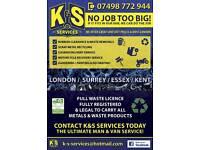 Man & Van Gardening Waste Rubbish Removals Metal Recycling