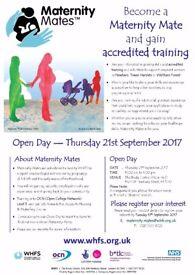 Volunteers needed! Maternity Mates OCN Level 3 qualification!