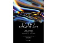 Sasha fantastic tickets x2 Manchester Bridgewater Hall
