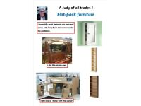 Honest, friendly, reliable woman - flat pack furniture assembly, and more . . .