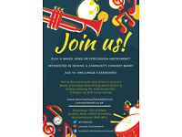Amateur percussionists needed!