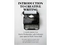 Introduction to Creative Writing - Wark Town Hall