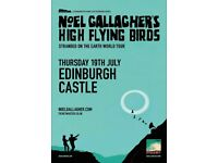 Noel Gallagher - Edinburgh Castle - £55 face value