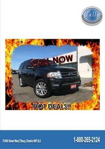 2015 Ford Expedition Limited, DVD, Nav, 8 passenger!