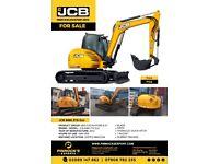 JCB 8085 ZTS Eco Midi Excavator 2012