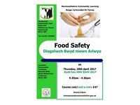 Food Safety Course at Monmouth Community Hub, Thursday, 20th April 2017