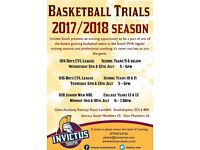 Invictus South Basketball Trials Years 7 - 13