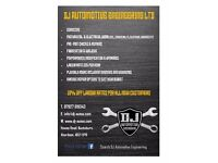 DJ Automotive Engineering for all your vehicle repairs