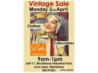 Vintage Sale CLOTHES an£ COLLECTABLES