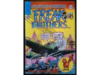 Freak Brothers: 'Number 6' Comic (British Reprint)