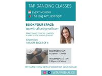 Tap Dance Classes for Adults!