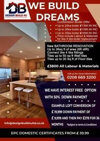 Loft Conversions From £19,999 - Electricians - Plumbers - Roofers - Painters & Decorators