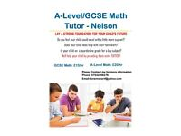 A-Level /GCSE Maths Tutor Service - Nelson Lancashire