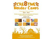 Cre8tive Holiday Camps- Halloween Special