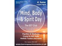 Mind, Body & Spirit Day at the E57 Club Kings Heath on 4th June