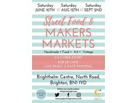 WANTED quality local traders, makers, artists & craftsmen for exciting new event in central Brighton