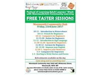 FREE Taster Sessions at Monmouth Community Hub on Friday, 23rd June 2017