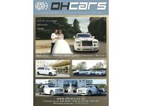 Wedding Car Hire - Rolls Royce Hire - Classic Car Hire - Phantom and Ghost Hire - Limo Hire