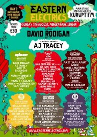 2 X Sunday Eastern Electrics Festival Tickets
