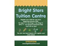 Bright Stars Tuition - 11+ and SATs - ages 4-11 - English and Maths (VR + NVR)