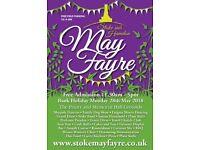 Stoke sub Hamdon May Fayre 28 May 2018 11.30am-5pm Free entry