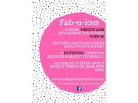 FAB.U.LOSS 12 Week Weight loss, health and beauty course, run by nutritional therapists.