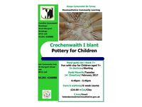 Pottery Classes for Adults and Children in Usk, Monmouthshire