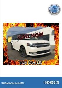 2014 Ford Flex Limited, AWD, Moonroof, Navigation, 64, 706 kms!!