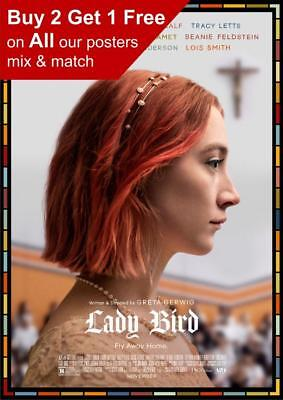 Lady Bird Movie Poster A5 A4 A3 A2 A1