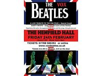 The Vox Beatles (Beatles Tribute) with special guest Dusty White