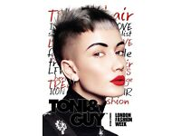 TONI&GUY HAIRDRESSER - STYLIST - COLOUR TECHNICIAN
