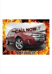2014 Ford Edge Limited, Moonroof, Nav, Leather!