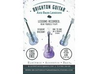 Guitar and Bass lessons. STUDENT DISCOUNT!
