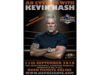 An Audience with Kevin Nash - WWE Hall of Fame Wrestling Legend & Hollywood Actor