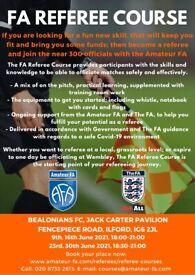 FA Referee Course