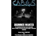 Drummer needed for rock band