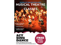Musical Theatre Classes for students aged 6 to 16