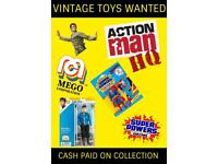 Wanted Vintage Toys Cash waiting Check your attics Star Wars He-man TMNT Transformers